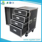 Volo Caso Drawer con Table, Carrying Wheels