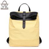 Практически Unisex Backpack холстины сумки конструктора цвета контраста