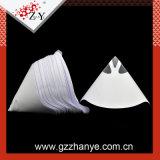 Papel de alta calidad de color blanco de embudo cónico para la pintura Filltering