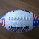 Tamaño oficial del diseño clásico de goma Artículos deportivos del fútbol americano