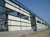 Erdbeben-beständige Stahlrahmen-Aufbau-Werkstatt