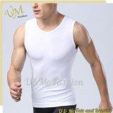 Fournisseur sans manche de T-shirt de Sportwear de gilet sec neuf d'ajustement