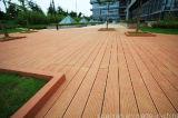 Revestimento ao ar livre composto plástico de madeira do Decking de WPC