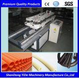 PE/PP/PVC doppel-wandige gewölbte Rohr-Extruder-Maschine