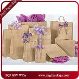 Sacs lustrés de cadeau d'achats de papier de sac de laminage