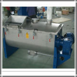 Fita Dupla Horizontal Industrial copo misturador para a mistura de pó seco