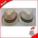 Sombrero de papel tejido sombrero de Sun del sombrero del papel del sombrero del sombrero de ala del sombrero de paja