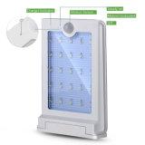 태양 빛, 25의 LED 무선 최고 밝은 태양 강화된 운동 측정기 빛, 안뜰 갑판 야드 정원 층계 벽 통로를 위한 옥외 안전 빛,