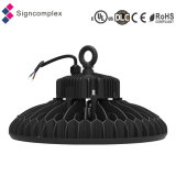 UL CE RoHS OVNI IP65 High Bay LED Light com 5 anos de garantia