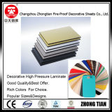 tarjeta del laminado del compacto de los paneles del tocador de 12m m