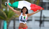 カスタムSunproofの国旗のイタリアの国旗防水すれば