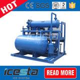 Máquina de hielo con hielo de tubo de cristal para refrigeración de fábrica grande