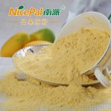 Pura comida natural / verde / buen sabor / jugo de frutas de mango en polvo