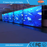 Innenmiete P5 LED-Bildschirmanzeige für Stadium