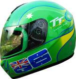 販売のためのオートバイの太字のHelmet Casco De Moto DOT Standardのヘルメット