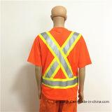 주황색 Gamrent 회색 사려깊은 테이프 안전 노동자를 위한 방어적인 Hoodie 작업복