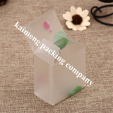 Food Grade Pet Material Clear Plastic Gift Box Gift