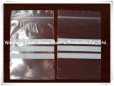 지퍼를 가진 관례에 의하여 인쇄되는 Zip 자물쇠 플레스틱 포장 부대