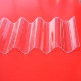 UV упорные ясные Corrugated листы крыши поликарбоната используемые для Gazebo