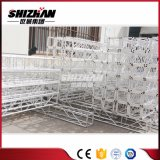 Shizhan 250*250mm小さい正方形アルミニウムボルトまたはねじトラス