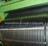 Máquina que introduce/hoja de acero que raja la cortadora