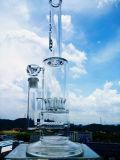 Stärken-gerades Gefäß-Glas-rauchendes Wasser-Rohr der China-Fabrik-15 des Zoll-5mm