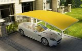 UVpolycarbonat-Panel-Autoparkplatz-Auto-Kabinendach schützen