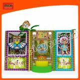 Mich Geld-Karikatur-Innenspielplatz für Kind-Spiel