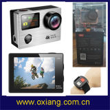 La mejor venta a prueba de golpes Mini Camer WiFi Cámara de acción de cámaras de acción 4k / cámara de acción con control remoto