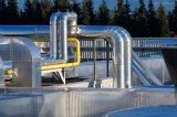 Bande souterraine d'enveloppe de pipe d'anticorrosion d'aluminium, enveloppant la bande de clignotement de PE de conduit adhésif, bande butylique de polyéthylène