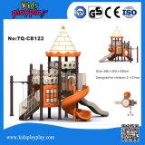 De gebruikte Structuur van het Spel van de Apparatuur van de Speelplaats van de Reeks van het Kasteel Openlucht voor Kinderen