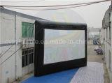 Schermo di film gonfiabile gonfiabile dello schermo di proiezione posteriore per il cinematografo esterno