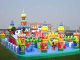 Città gonfiabile gigante di divertimento di Disny, castello esterno di Disny