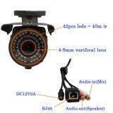 Imperméables IR 1080p Vidéosurveillance Caméra IP de vision de nuit