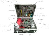 Outil de fibre optique avec 18 pièces, fibre optique, Fibre Cleaver, Outil de fibre optique