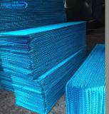 Het KoelStootkussen van de Serre van het gevogelte met Blauwe Kleur