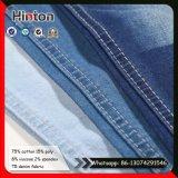 Tessuto blu-chiaro del denim delle donne della saia del tessuto TR del Jean