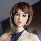 Верхняя головка силикона куклы Quaity сексуальная для игрушки влюбленности для людей