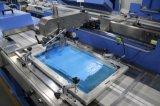 판매를 위한 울안을%s 가진 기계를 인쇄하는 2개의 색깔 의복 레이블 자동적인 스크린