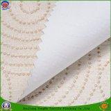 Prodotto impermeabile intessuto tessile domestica della tenda di mancanza di corrente elettrica del rivestimento del franco del poliestere del tessuto per la tenda di finestra