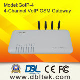 4 GSM van de haven/van de Kaart Channel/SIM Gateway GoIP4