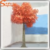 Hotel Maple Tree artificial de plástico decorativas em fibra de vidro