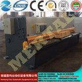QC12y (k) Scherende Machine van de Straal van de Schommeling van -6X3200 de Hydraulische (CNC)