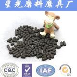 China, basado en carbón de antracita carbón activado con forma de columna
