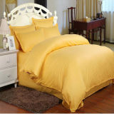 Conjunto de roupa de cama de algodão egípcio de coleta de têxteis para o lar