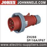 IP67 5p 16A Stecker für industrielles mit Cer-Bescheinigung