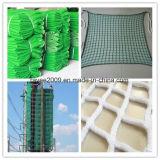 HDPE resistente al UV de tejidos de punto de recogida de aceituna agrícola la cosecha Net