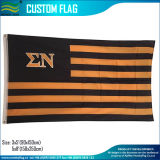 New Design Polyester Printed USA Sigma Letter Flag (M-NF01F090101)