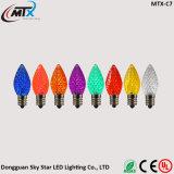 공장 C7 C9 색깔 끈 빛 크리스마스 반짝임 LED 전구