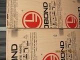 Los paneles de madera de color compuesto PVDF.